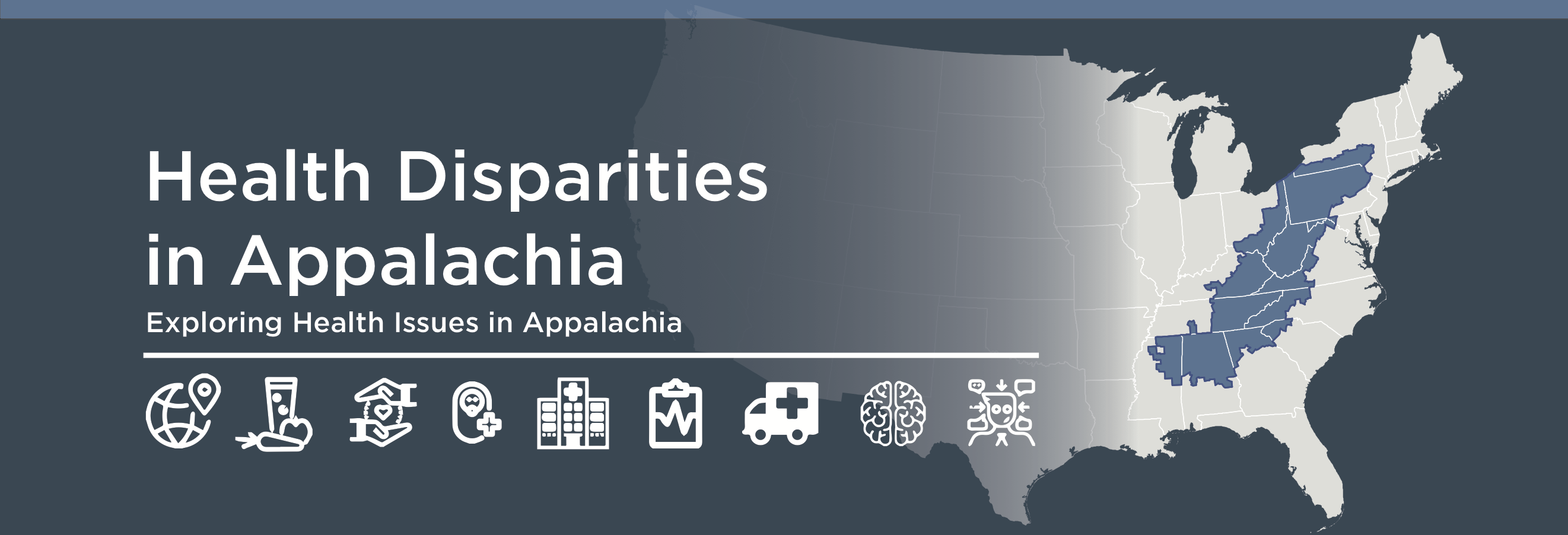 Health Disparities in Appalachia logo