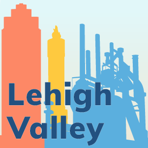 Cityscape of lehigh valley