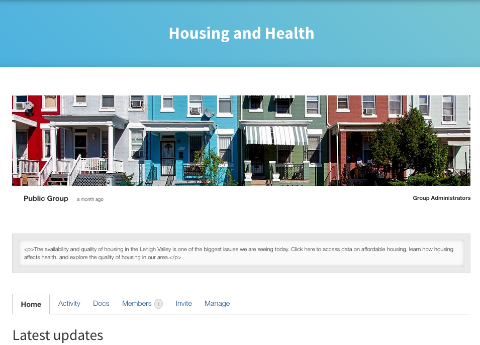 Housing and Health Hub in Lehigh