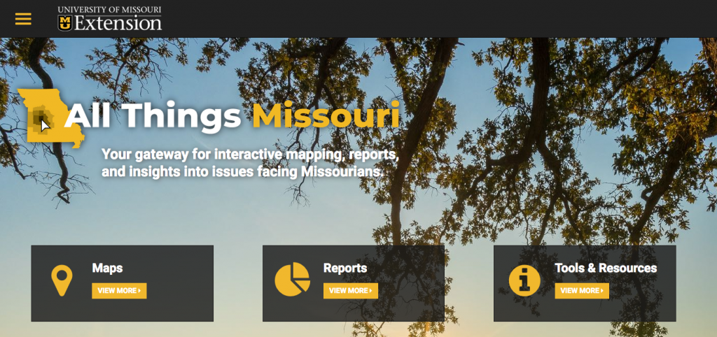 All Things Missouri Homepage